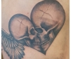 Skull Heart Tattoo